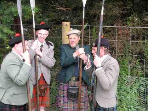 Tweedies, highland games